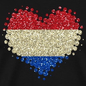 I love Netherlands Holland Home pride heart - Men's Premium T-Shirt