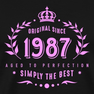 original since 1987 simply the best 30. Geburtstag - Männer Premium T-Shirt
