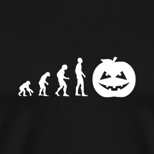 Evolution Halloween - Männer Premium T-Shirt
