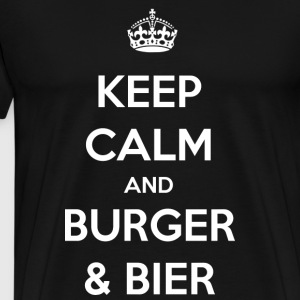 Burger / Beer / BBQ / Gift - Men's Premium T-Shirt