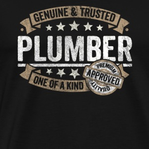 Plumber Premium Quality Approved - Männer Premium T-Shirt