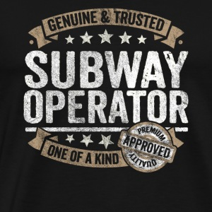 Subway Operator Premium Quality Approved - Männer Premium T-Shirt