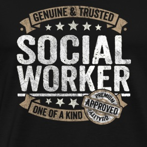 Social Worker Premium Quality Approved - Men's Premium T-Shirt