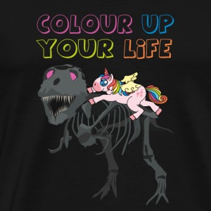 Make your life more colorful! Color up your Life. - Men's Premium T-Shirt