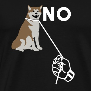 No To Dog Abuse - Männer Premium T-Shirt