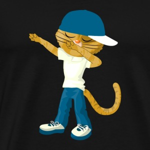 Tamponnant Chat Chemise drôle Dab Hip Hop tamponnant Kitten - T-shirt Premium Homme