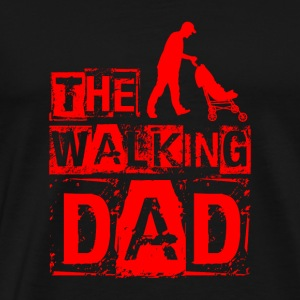 Den walking far - rød - Herre premium T-shirt