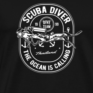 Scuba Diver Team Thailand Diving Diving Gift - Men's Premium T-Shirt