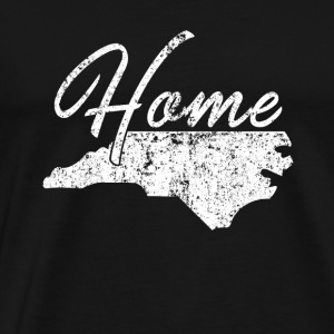 Verontruste shirt North Carolina Huis - Mannen Premium T-shirt