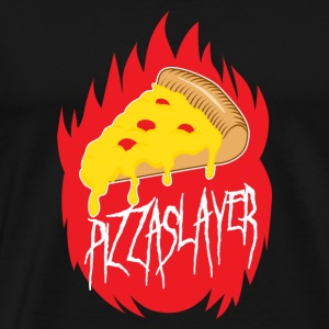 Pizza Slayer - T-shirt Premium Homme