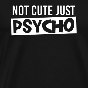 Christmas gift psycho new vodka alcohol - Men's Premium T-Shirt