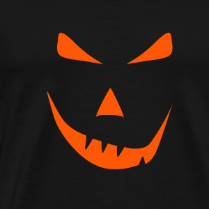 Halloween Face Pumpkin Moster grin - Men's Premium T-Shirt