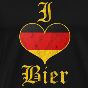 I love beer - gift - Men's Premium T-Shirt