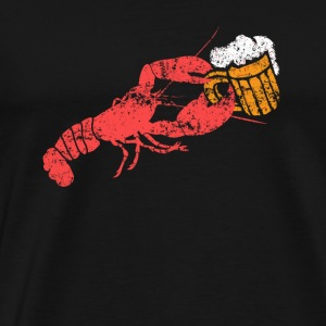 Lobster Beer - Männer Premium T-Shirt