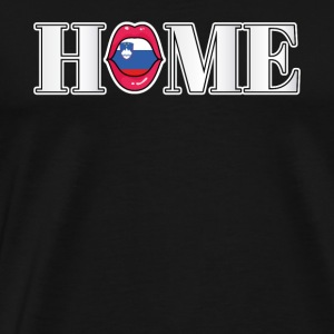 Slovenia Home gift - Men's Premium T-Shirt