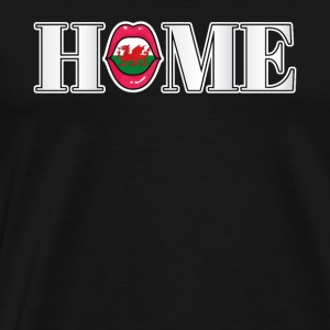 Wales Home gift - Men's Premium T-Shirt