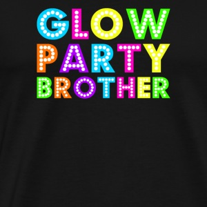 Glow Party Brother - Premium T-skjorte for menn