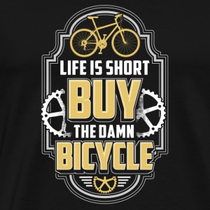 Bicycle Mountain Bike Gift - Men's Premium T-Shirt