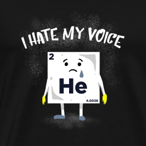 Poor helium gift - Men's Premium T-Shirt