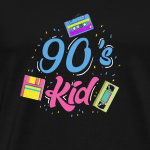 90 Kid gave - Herre premium T-shirt