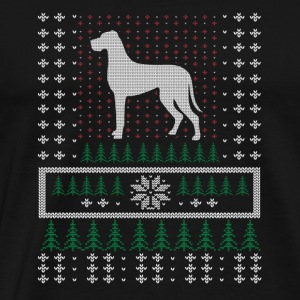 Great Dane Ugly Xmas Sweater gift Christma - Men's Premium T-Shirt