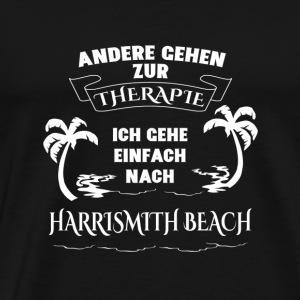 HARRI SMITH BEACH terapi semester gåva - Premium-T-shirt herr