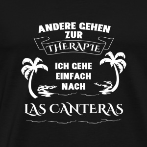 LAS CANTERAS Therapy Gift Vacation - Men's Premium T-Shirt