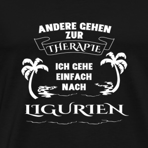 LIGURIA Therapy gift holiday - Men's Premium T-Shirt