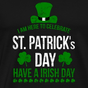 I am here to celebrate St. Patrick's Day!