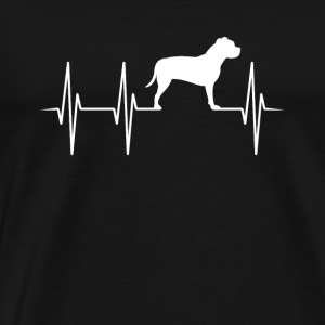 Staffordshire Terrier Heartbeat Fighting Dog Gift