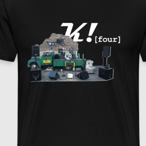 K! [Four] Shirt - Men's Premium T-Shirt
