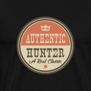 Autentisk Hunter - Hunter - Premium T-skjorte for menn