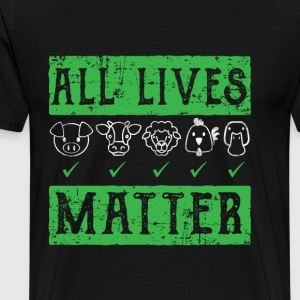 Vegan animal protection shirt - Men's Premium T-Shirt