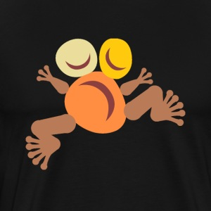 "Frog ""Yellow"" Totem - Men's Premium T-Shirt"