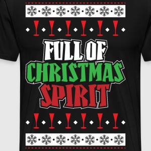 Full Of Christmas Spirit - Men's Premium T-Shirt