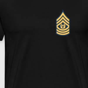 US Army Command Sergeant Major - Mannen Premium T-shirt