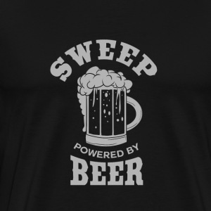 SWEEP powered by BEER - Men's Premium T-Shirt