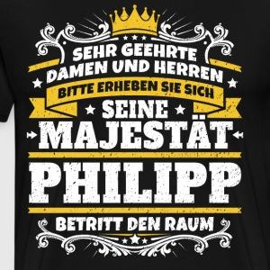His Majesty Philipp - Men's Premium T-Shirt