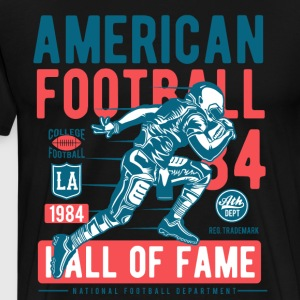 American Football usa sport football run helm fun - Men's Premium T-Shirt