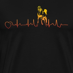 Horses are my heartbeat - III - Men's Premium T-Shirt