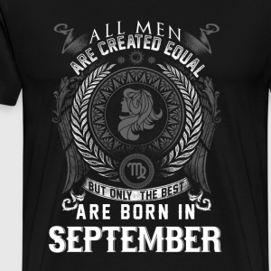 Virgo September Birthday - Men's Premium T-Shirt