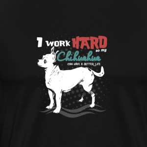DOGS | CHIHUAHUA WORKS - Men's Premium T-Shirt
