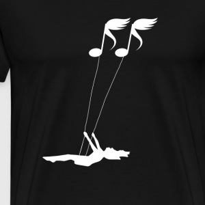 Sheet music Swing - Men's Premium T-Shirt