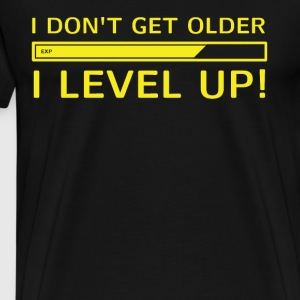 I Level Up ! Gamer T-Shirt - Männer Premium T-Shirt