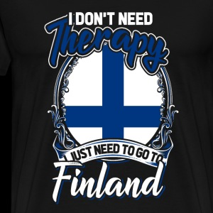 I dont need therapy i just need to go to finland