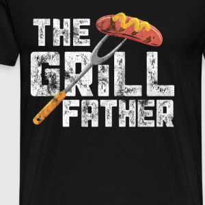 The barbecue father - Men's Premium T-Shirt