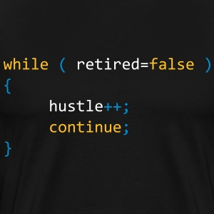 CONTINUE HUSTLE WHILE NOT RETIRED - JAVA CODE