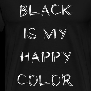 black is my happy color gothic metalhead Geschenk