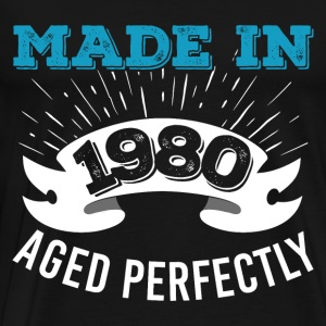 Made In 1980 Aged Perfectly - Men's Premium T-Shirt