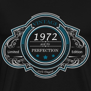 Vintage 1972 age to perfection LIMITED EDITION - Men's Premium T-Shirt
